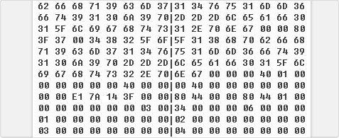 gaf binary config describing frame of the 2d animations